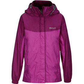 Marmot Girls PreCip Jacket Neon Berry/Grape